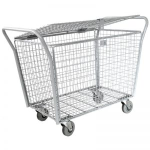 Locakable parcle trolley