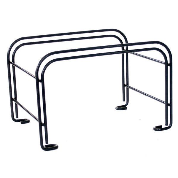 stationary basket stand