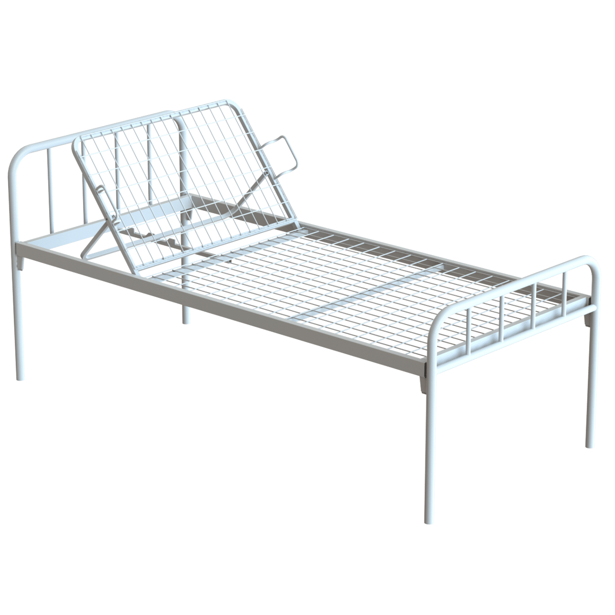 Hospital Bed Headrest Adjustable